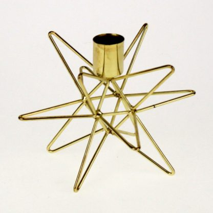 Kerzenständer Stern